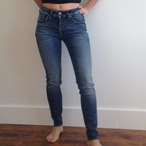Silver Jeans - High Rise Super Skinny Jeans